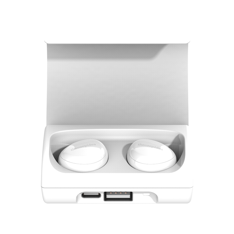 thecoopidea - BEANS+ True Wireless Earbuds - White