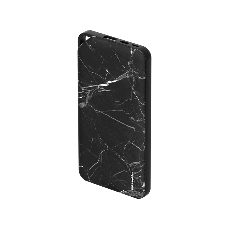 thecoopidea - PLANK PD 10000mAh Powerbank - Marble Black