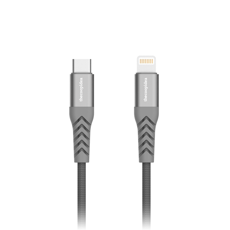 thecoopidea - Flex Pro Series - 2M MFI to Type-C Cable