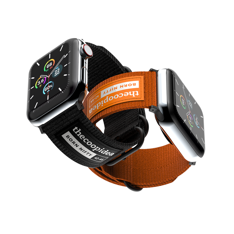 thecoopidea - BELT - Durable Nato Apple Watch Straps - Orange