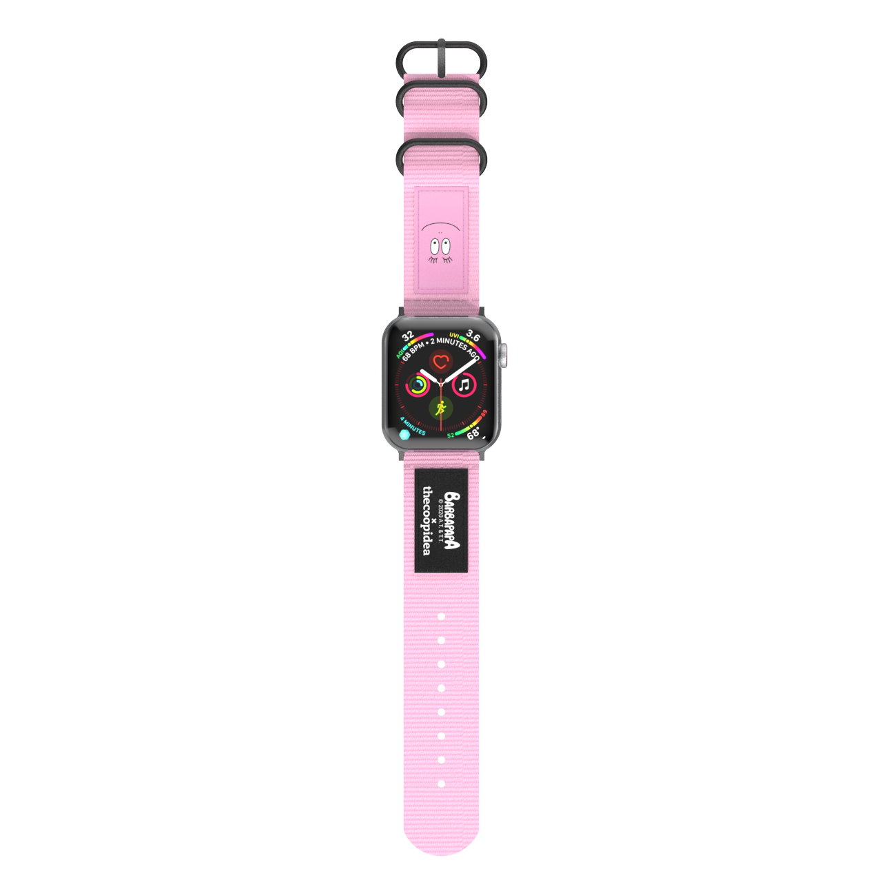 (BARBAPAPA Edition) BELT - Durable Nato Apple Watch Straps - BARBAPAPA