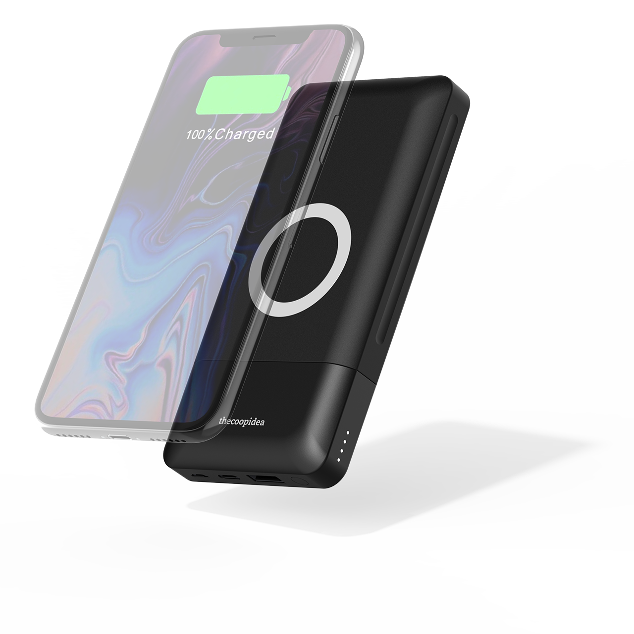 thecoopidea - Stack 18W PD + 10W Wireless Charging 10000mAh Powerbank