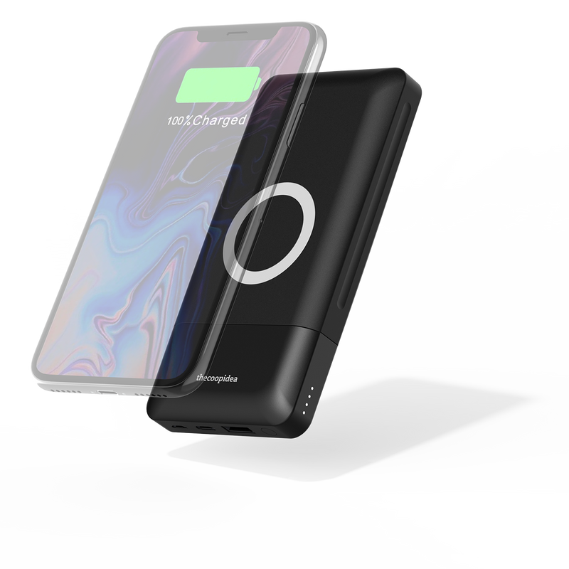 Stack 18W PD + 10W Wireless Charging 10000mAh Powerbank