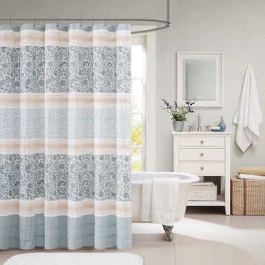Dawn Cotton Shower Curtain.
