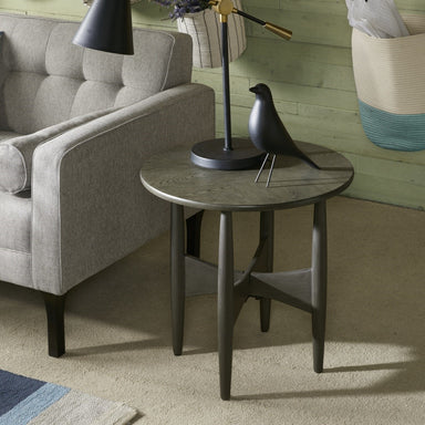 Ellipse End Table.