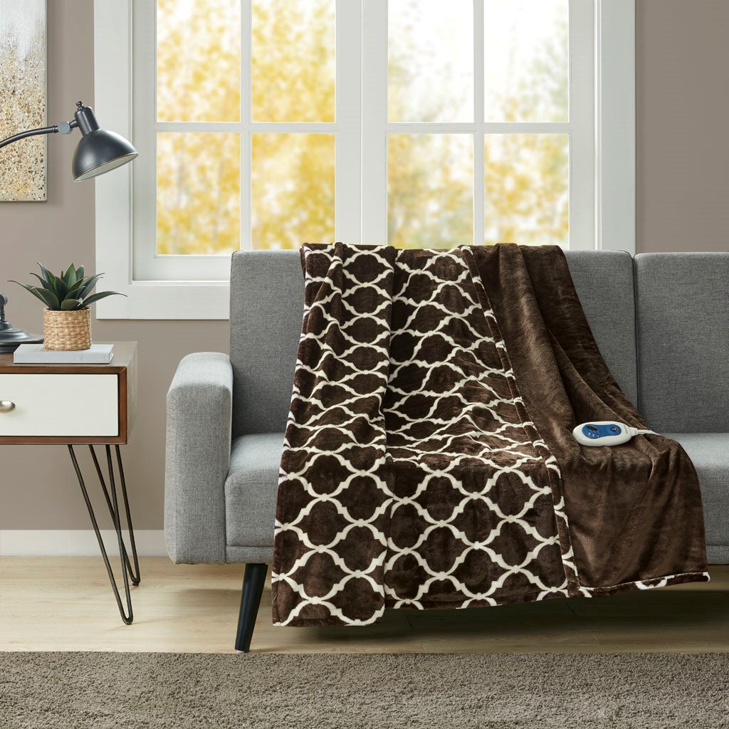 Heated Ogee Throw