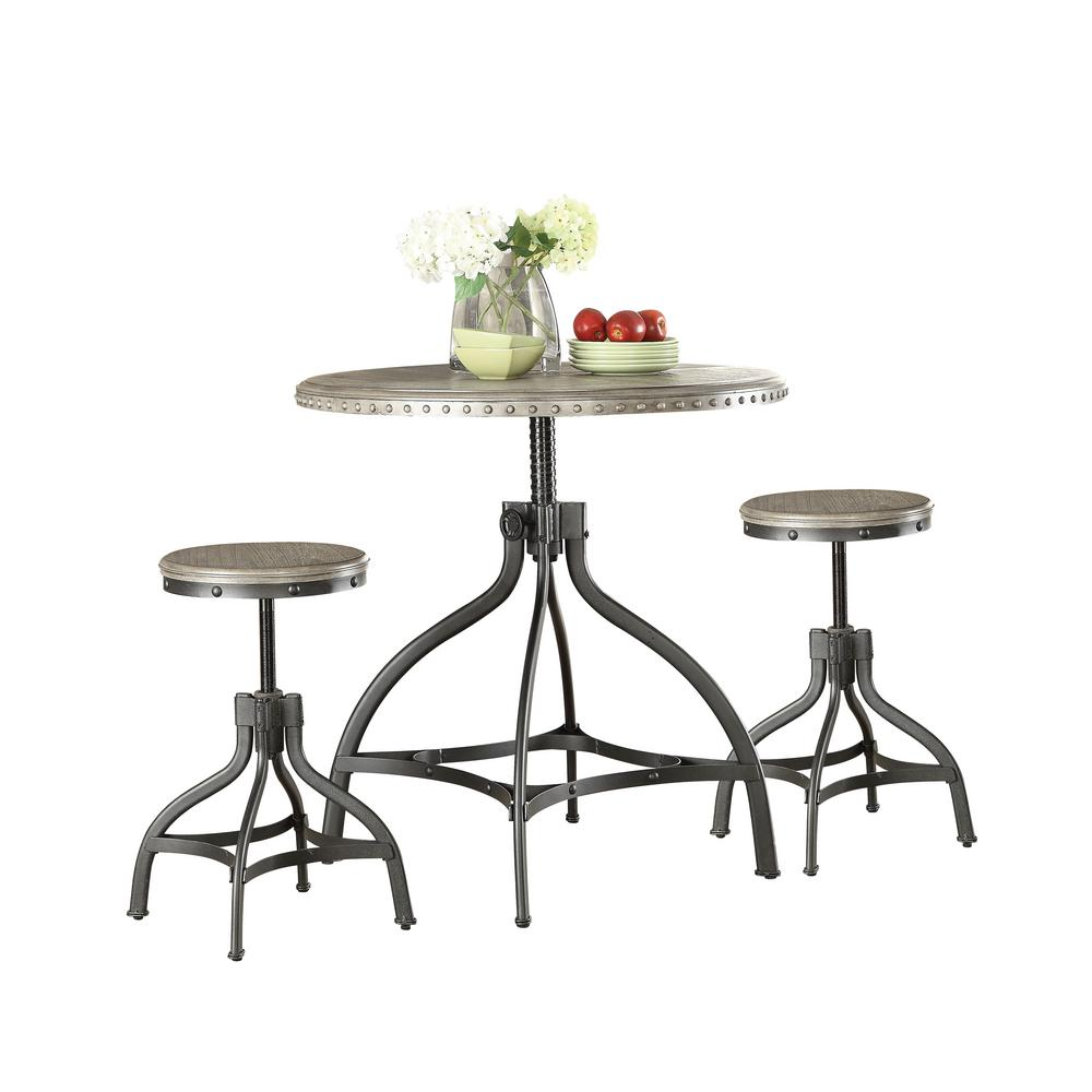 Liane Counter Height Table Set (3-Piece).