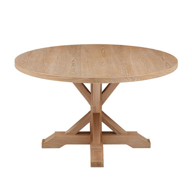 Farmhouse Round Dining Table.
