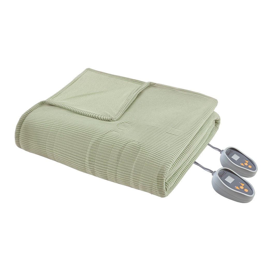 Electric Micro Fleece Heated Blanket