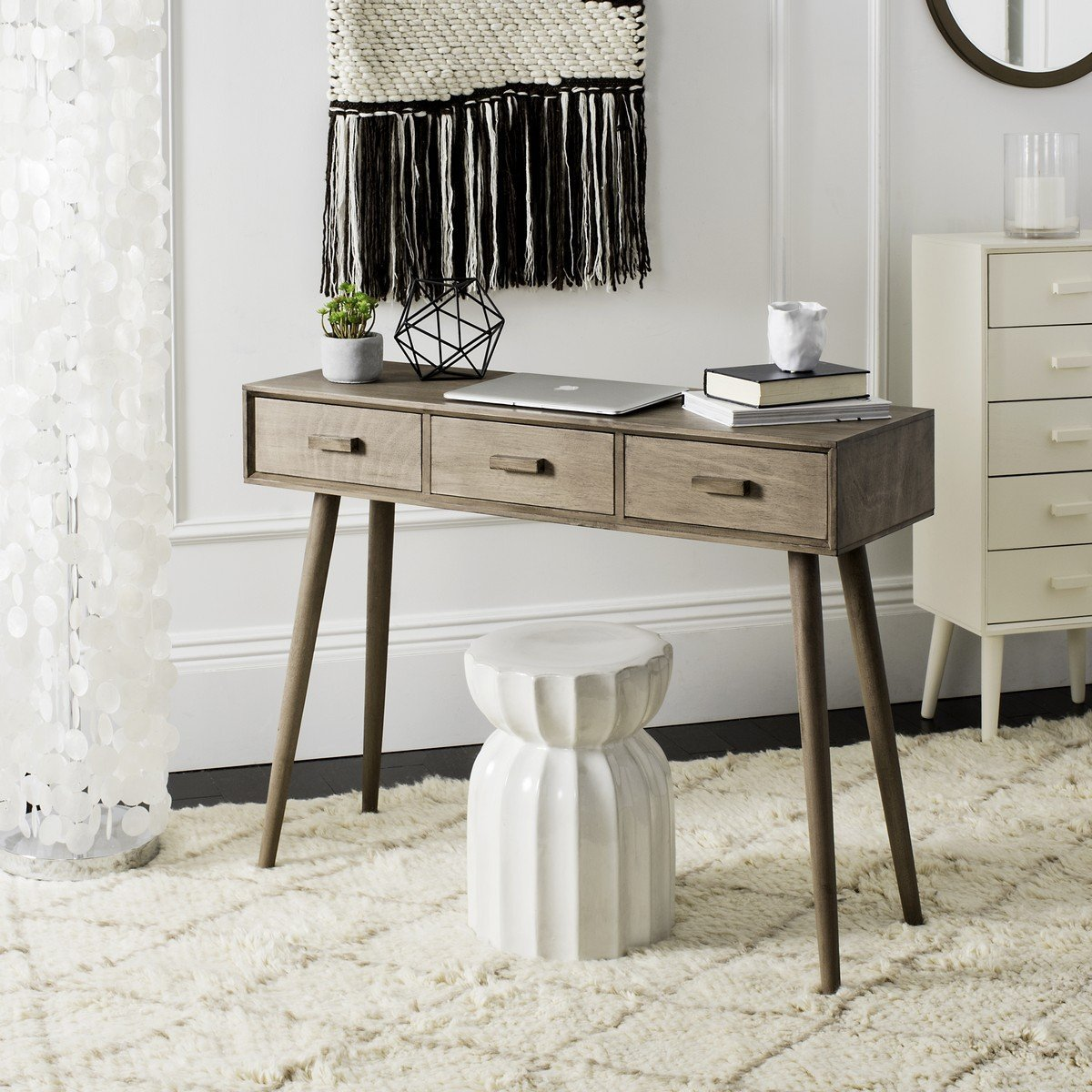 Albus 3 Drawer Console Table.