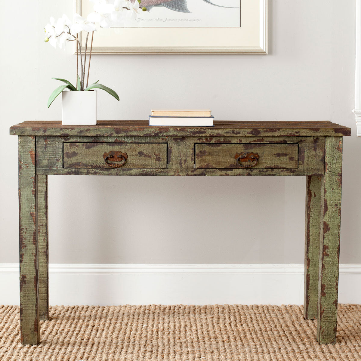 Carl 2 Drawer Console Table