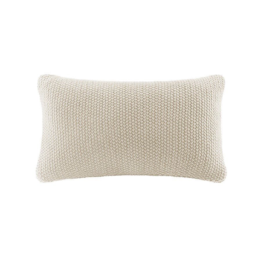 Bree Knit Oblong Pillow Cover