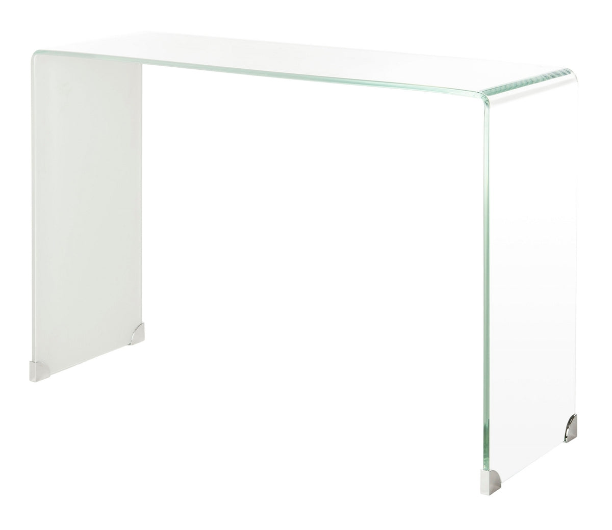 Crysta Ombre Glass Console Table.