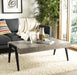 Cameron Rectangular Midcentury Modern Coffee Table.