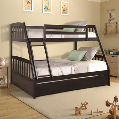 Connor Bunk Bed with Two Storage