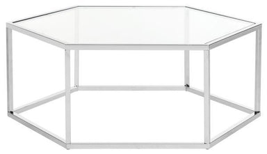 Eliana Glass Coffee Table
