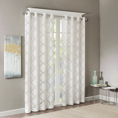 Eden Fretwork Burnout Sheer Panel.