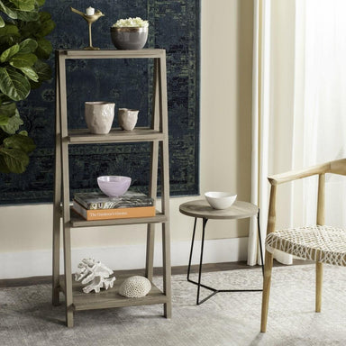 "Deitria 49"" Retro Scandinavian Three Tier Shelf."