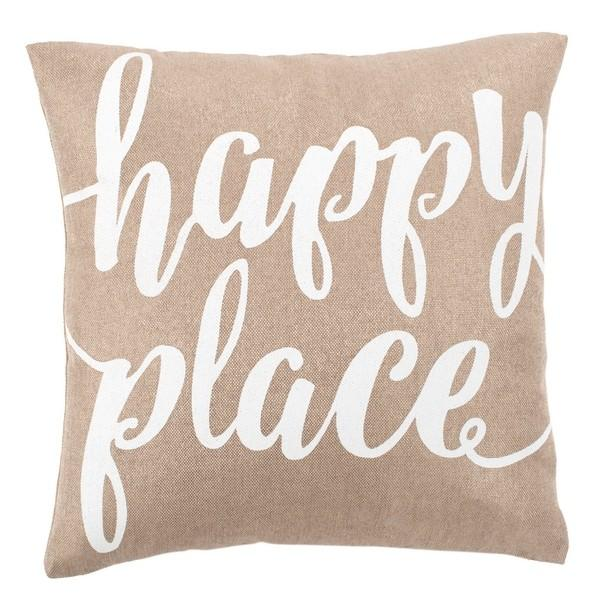 Happy Place Pillow.