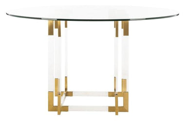 "Koryn 54"" Acrylic Dining Table"