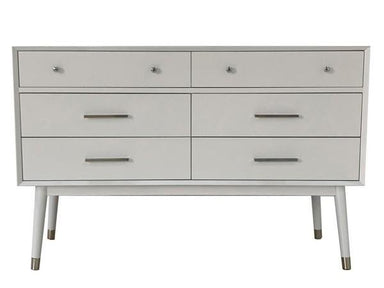 Madden Retro Dresser with Silver Legs.