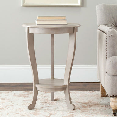 Mary Pedestal Side Table.