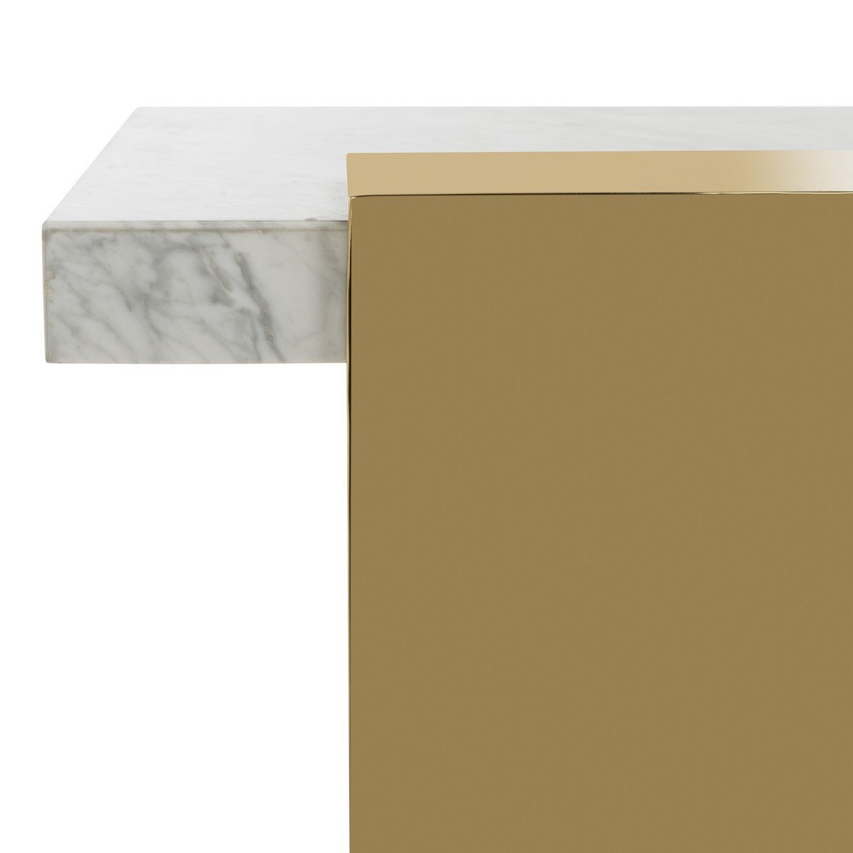 Mycha Marble Console Table.