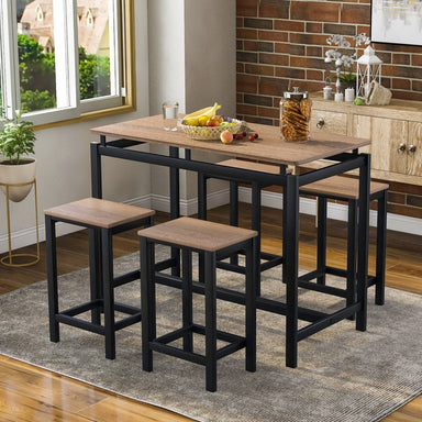 Nixon Counter Height Table Set (5-Piece).
