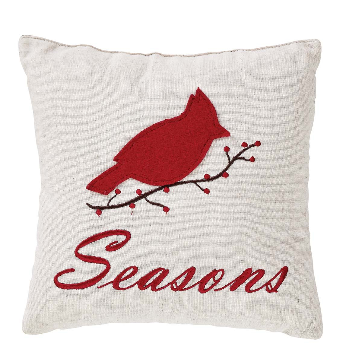 Seasons Greetings Pillow Set of 2.