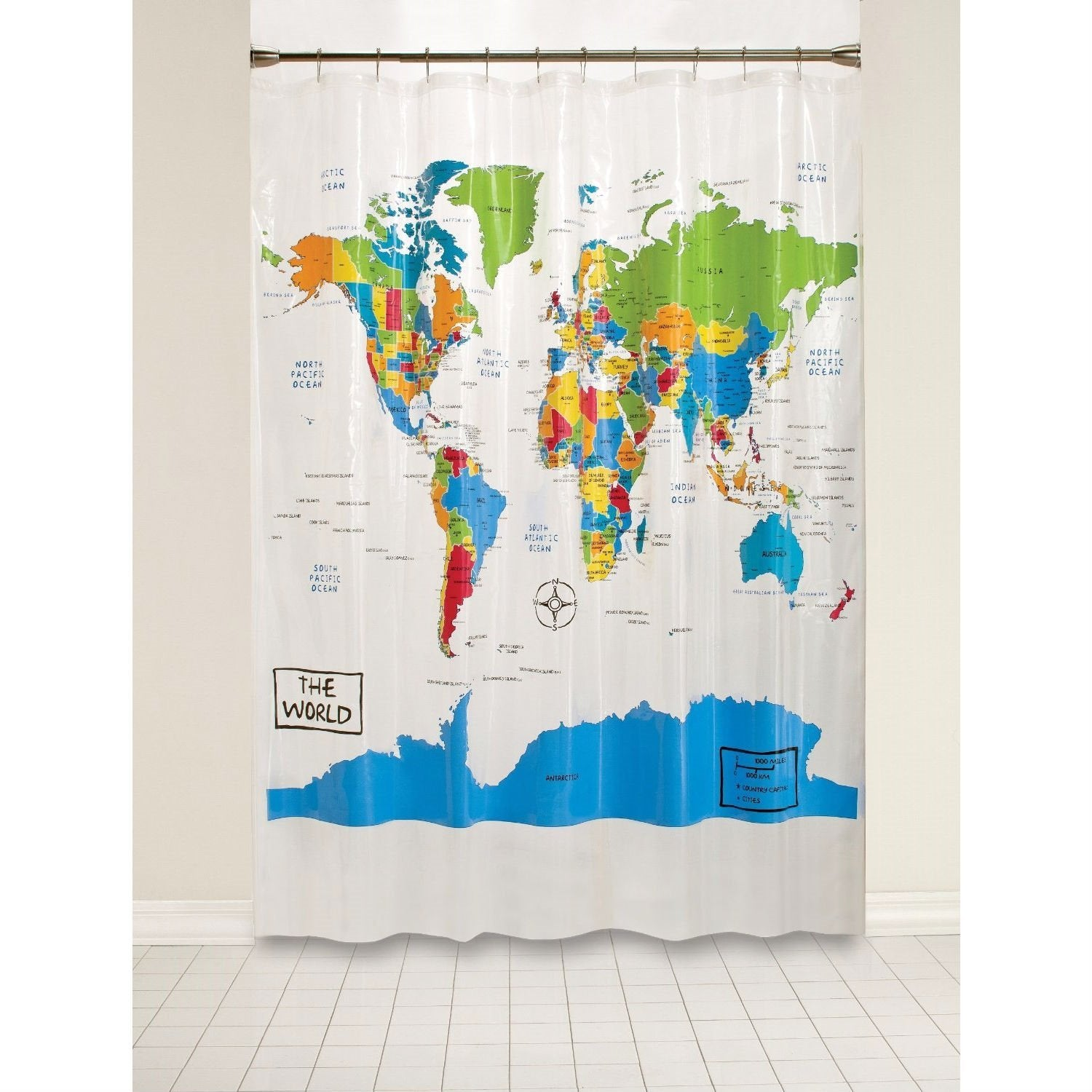Aidan Shower Curtain