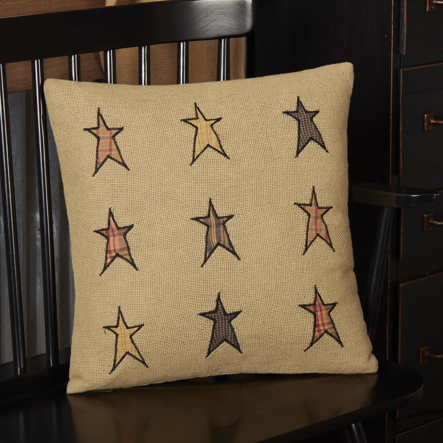 Stratton Applique Star Pillow.