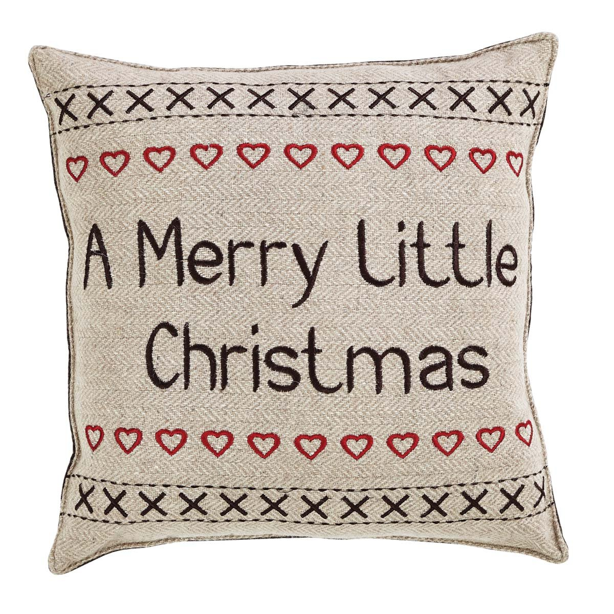 Merry Little Christmas Pillow Have Yourself A Set of 2.