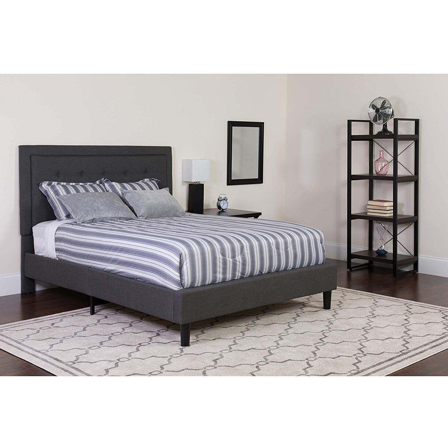 Tudor Platform Bed Queen size
