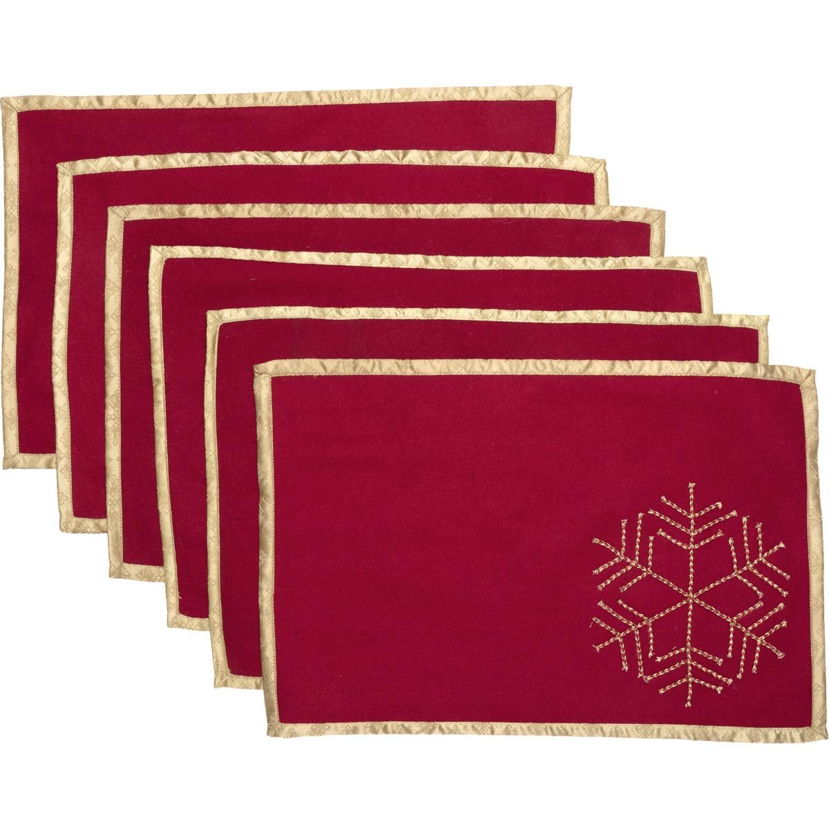 Revelry Placemat Set of 6.