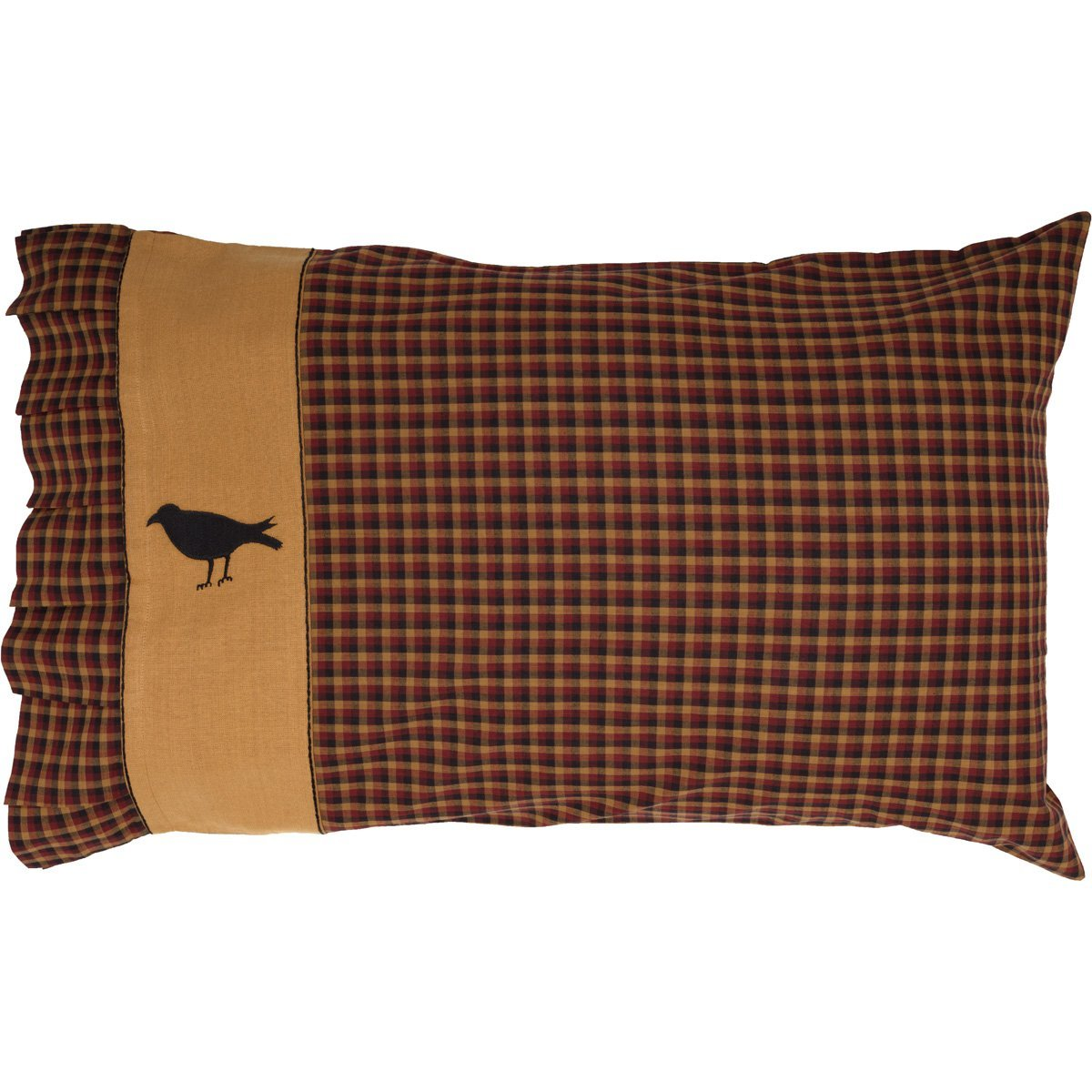 Heritage Farms Crow Pillow Case Set of 2.