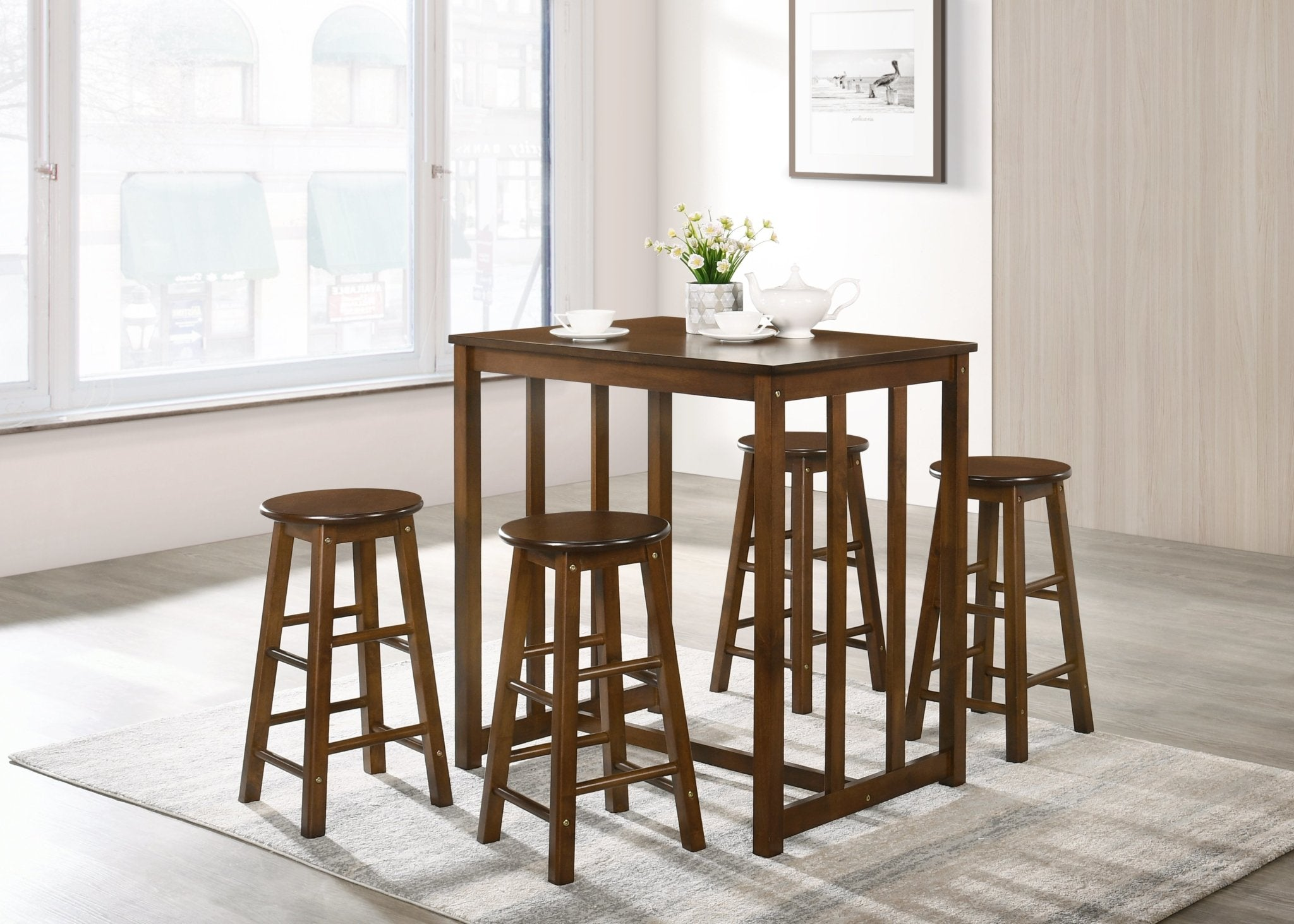 Karin Dining Table Set (5-Piece).