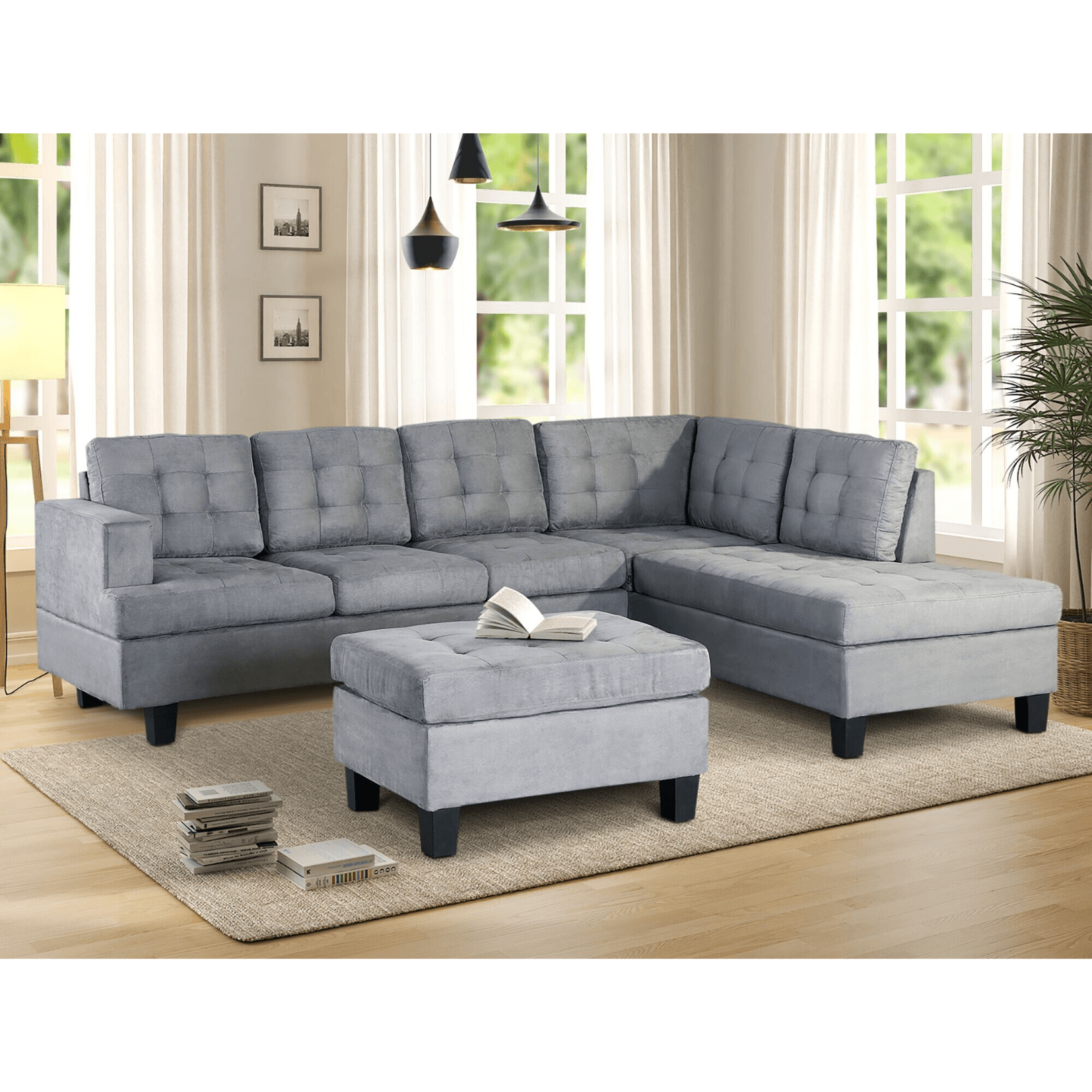 Duncan Sectional Sofa.