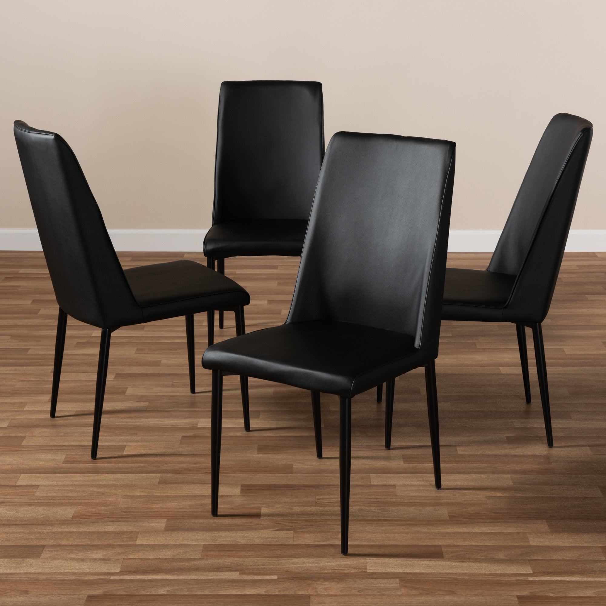 Sanddahl Leather Chair (Set of 4)
