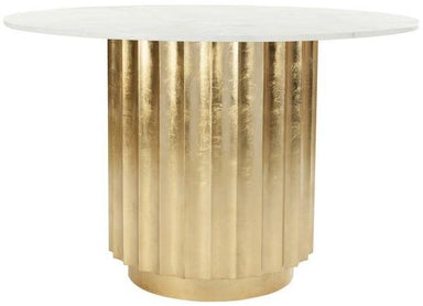 "Laelia 47"" Gold Dining Table"