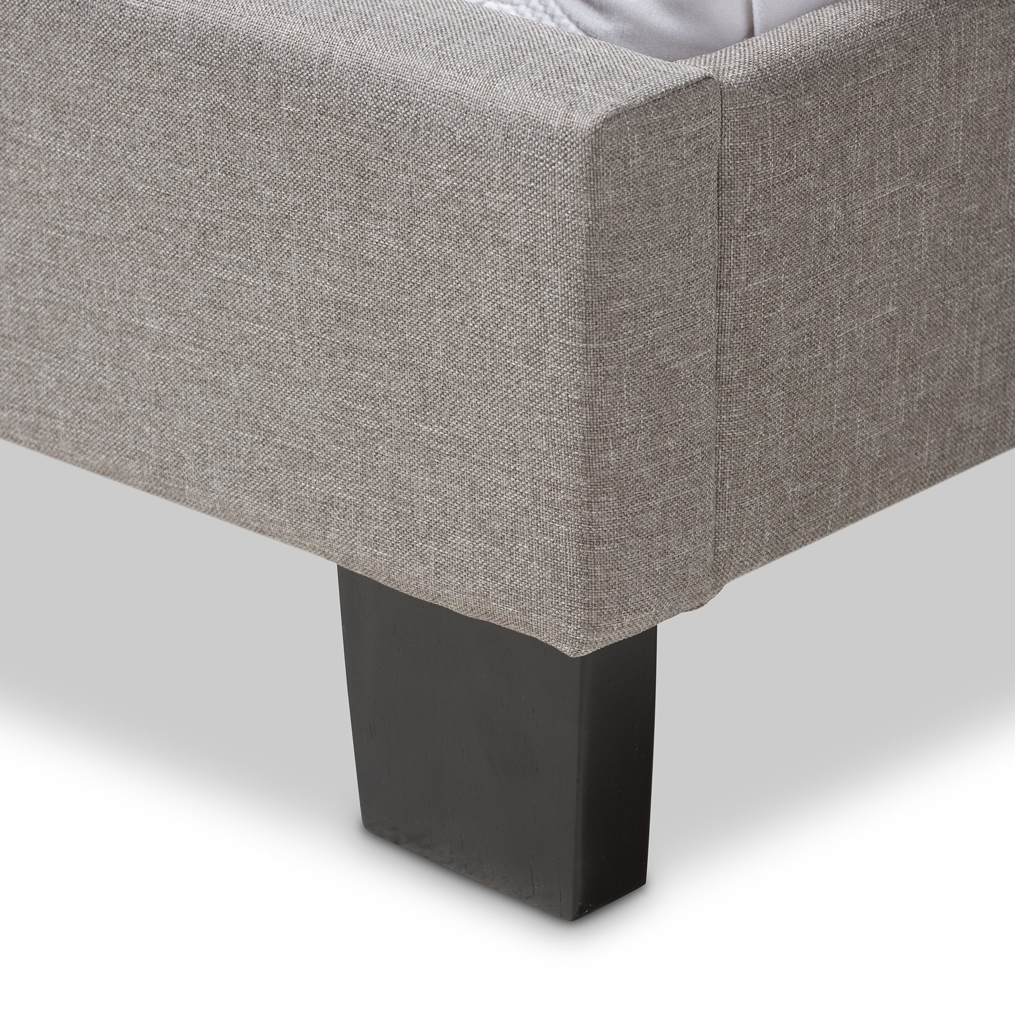 Lewis Fabric Upholstered Bed