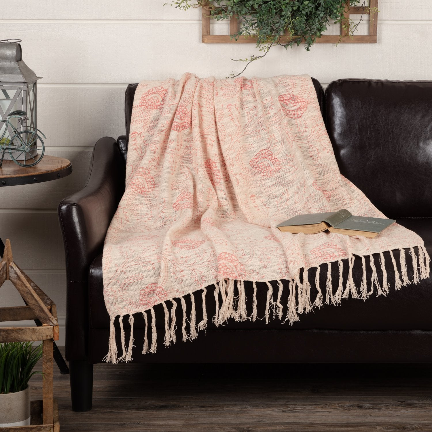 Genevieve Printed Woven Throw.