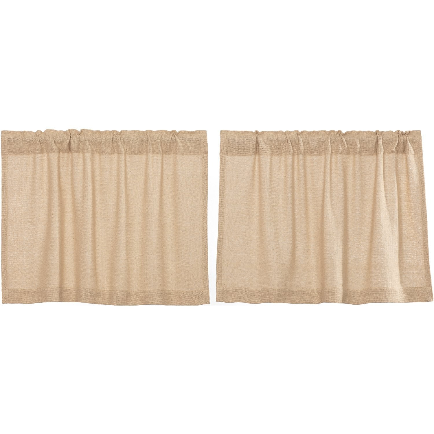 Burlap Vintage Tier Set of 2.