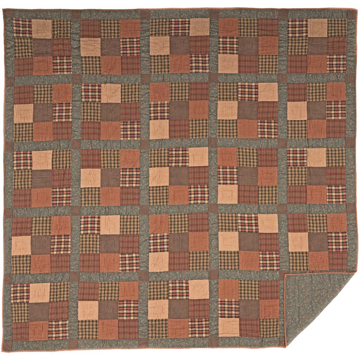 Crosswoods Quilt.