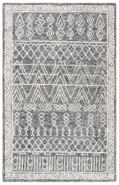 Abstract Collection ABT558A Wool Rug