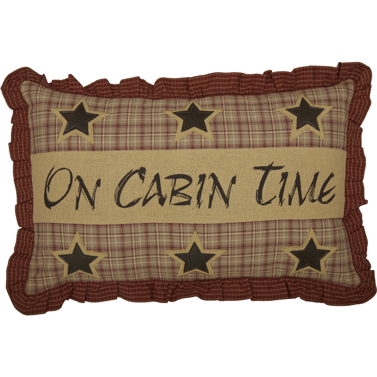 Dawson Star On Cabin Time Pillow Cover.