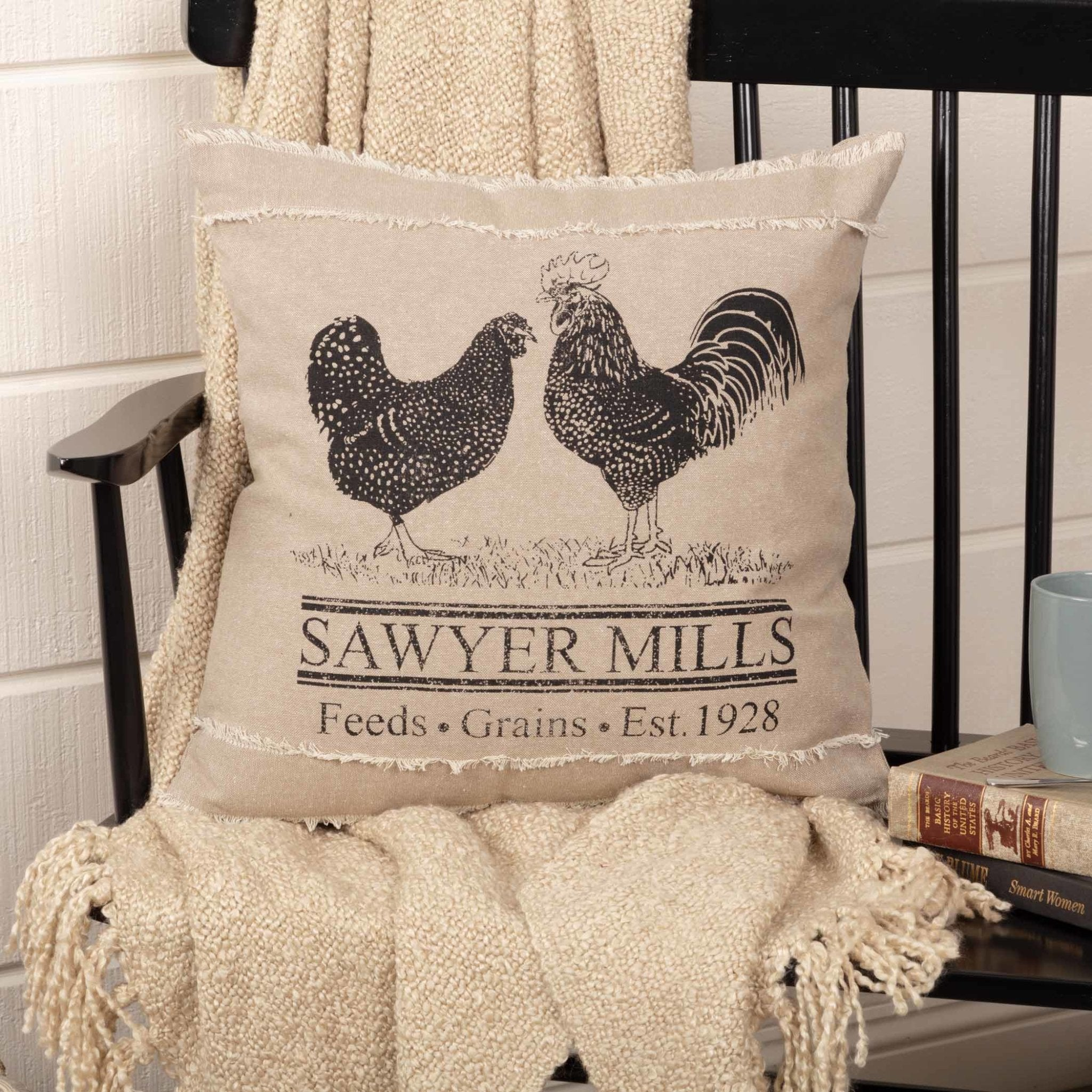 Sawyer Mill Poultry Pillow.