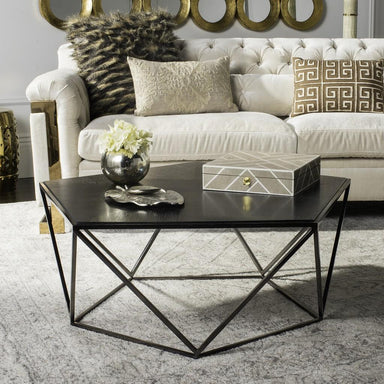 Alba Geometric Coffee Table.