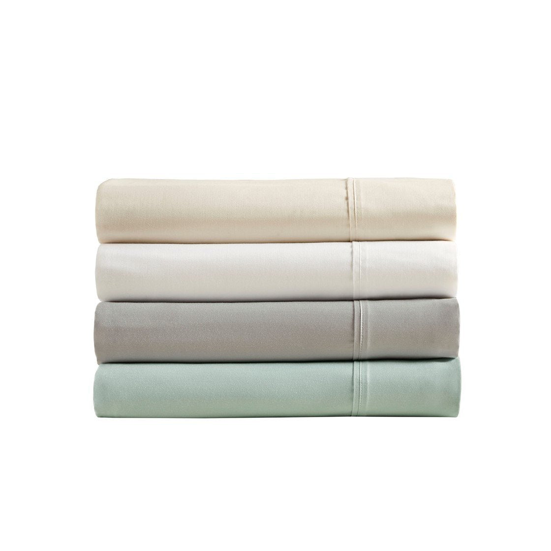 400 Thread Count Wrinkle Resistant Cotton Sateen Sheet Set