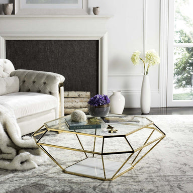 Abena Geometric Coffee Table