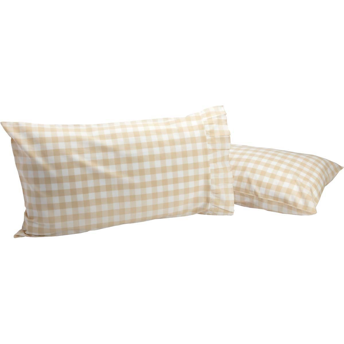 Annie Buffalo Check Pillow Case Set of 2.